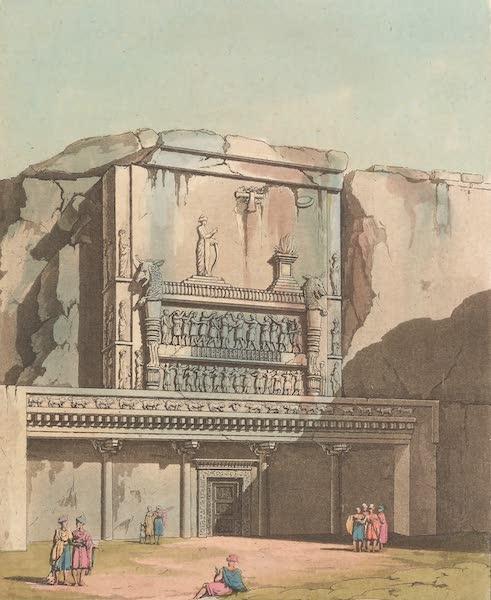 Le Costume Ancien et Moderne [Asie] Vol. 3 - Tombeaux de Nakschi-Rustan (1817)