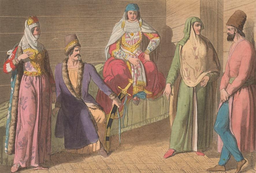 Le Costume Ancien et Moderne [Asie] Vol. 3 - Costume des Guebres, des Armeniens, des Curdes (1817)