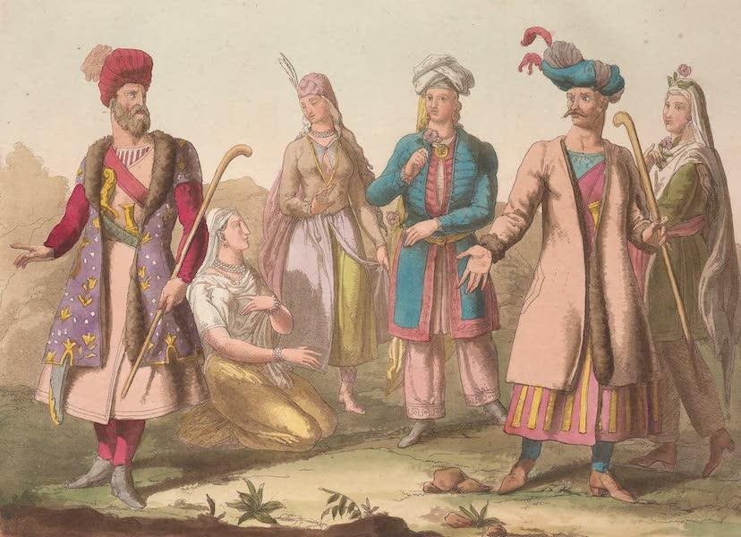 Le Costume Ancien et Moderne [Asie] Vol. 3 - Habillement actuel des Persans etc [I] (1817)