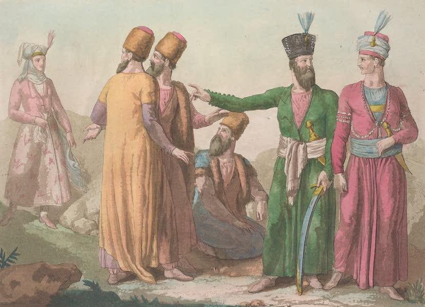 Le Costume Ancien et Moderne [Asie] Vol. 3 - Habillement actuel des Persans etc [II] (1817)