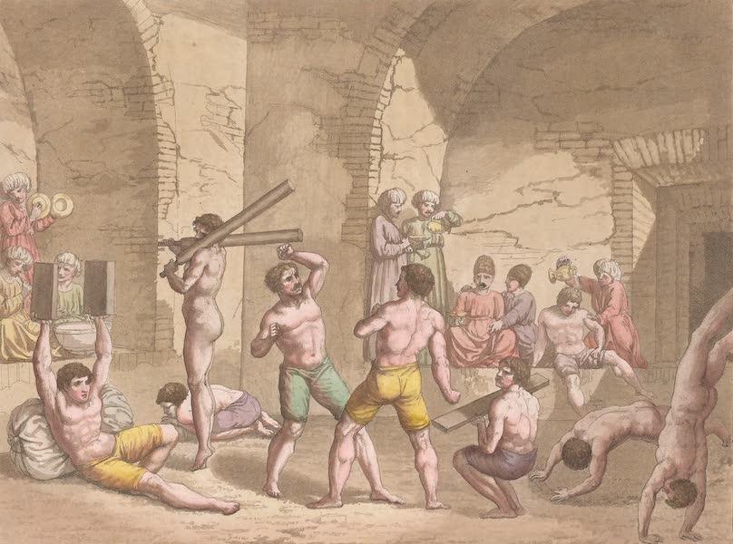 Le Costume Ancien et Moderne [Asie] Vol. 3 - Zur-kaneh ou maison de divers exercices de corps (1817)