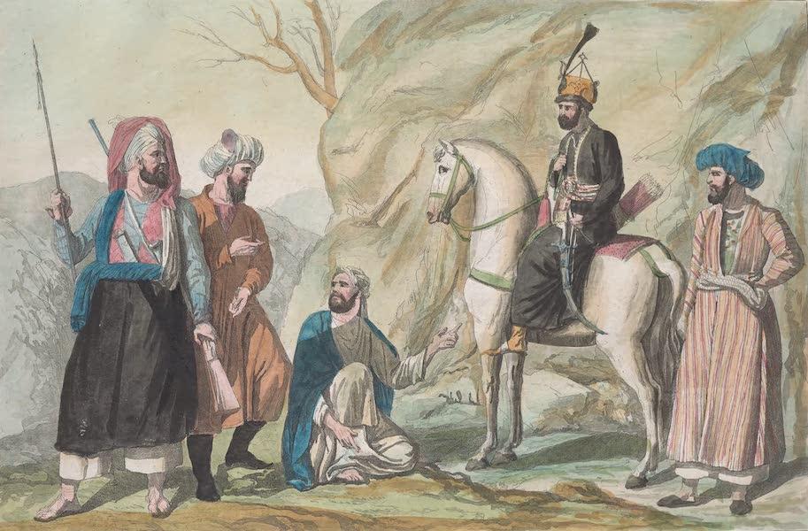 Le Costume Ancien et Moderne [Asie] Vol. 4 - Damans, Hindkis, Usbecks, Eimaks (1818)