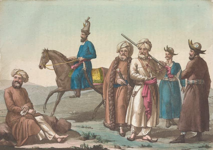Le Costume Ancien et Moderne [Asie] Vol. 4 - Eusofziens, Ghiliens, Taiks (1818)