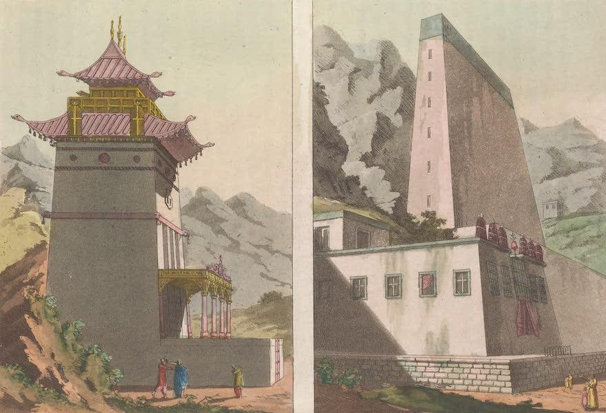 Le Costume Ancien et Moderne [Asie] Vol. 4 - Mausolee de Tescou-Lama (1818)