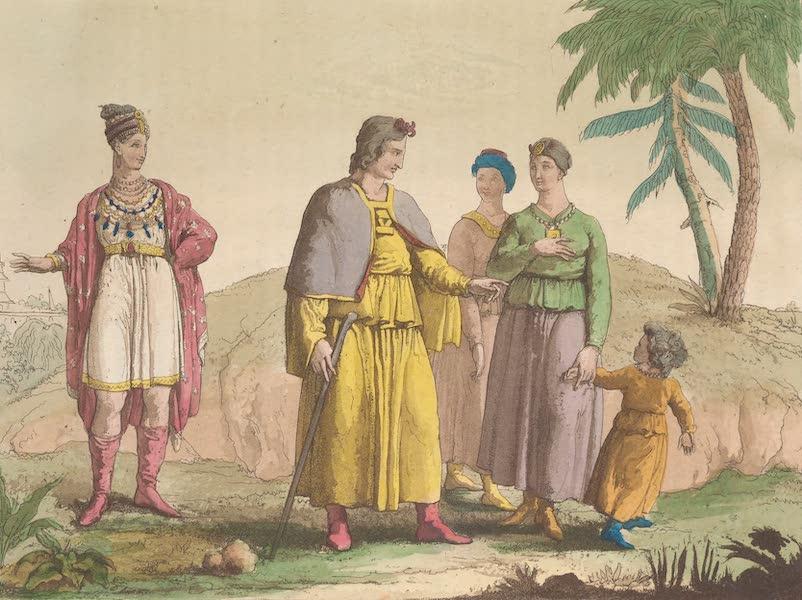 Le Costume Ancien et Moderne [Asie] Vol. 4 - Habillement des Tibetains (1818)