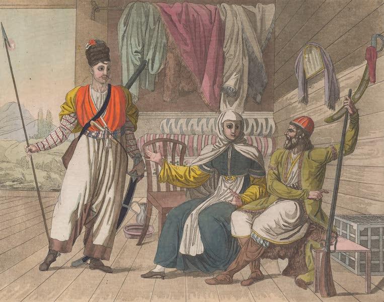 Le Costume Ancien et Moderne [Asie] Vol. 4 - Cosaques Grebenski (1818)