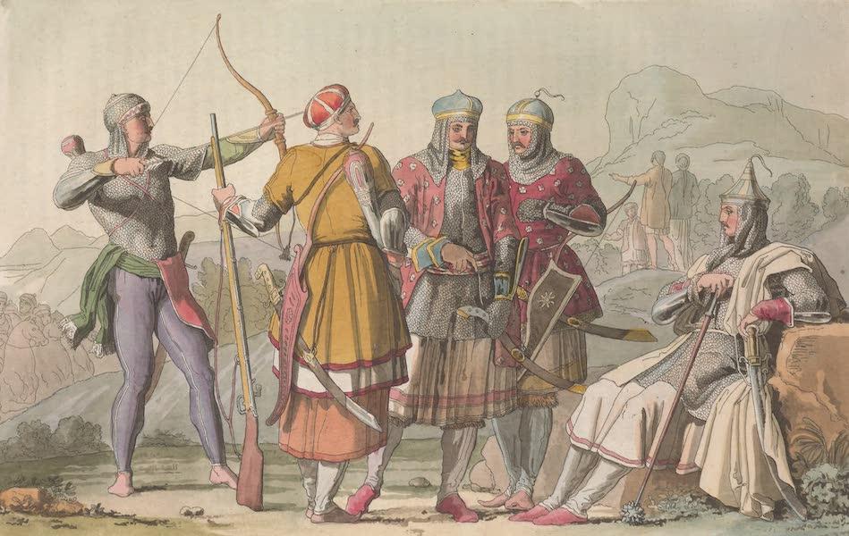 Le Costume Ancien et Moderne [Asie] Vol. 4 - Armure des Princes et des Usden Circassiens (1818)