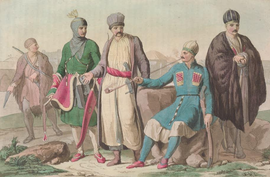 Le Costume Ancien et Moderne [Asie] Vol. 4 - Habillement ordinaire des Circassiens (1818)