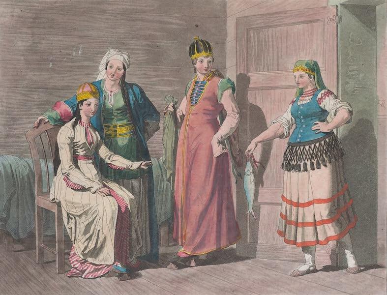 Le Costume Ancien et Moderne [Asie] Vol. 4 - Femmes Circassiennes (1818)