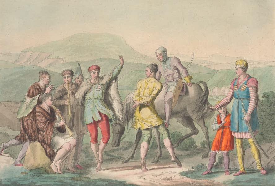 Le Costume Ancien et Moderne [Asie] Vol. 4 - Danse des Circassiens (1818)