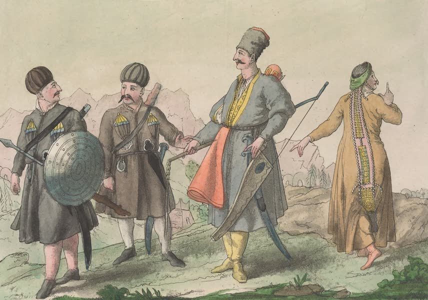 Le Costume Ancien et Moderne [Asie] Vol. 4 - Ingusches etc (1818)