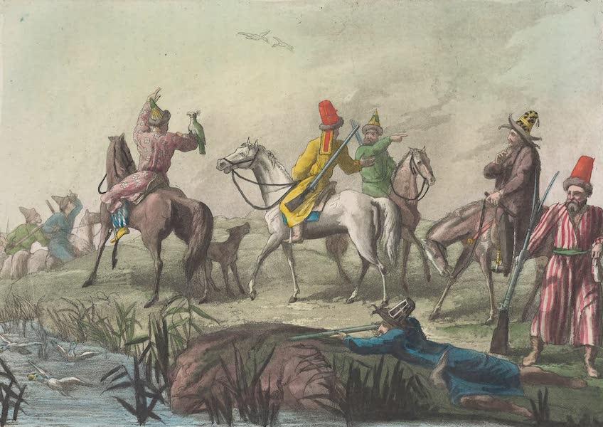 Le Costume Ancien et Moderne [Asie] Vol. 4 - Chasse des Kirguises (1818)