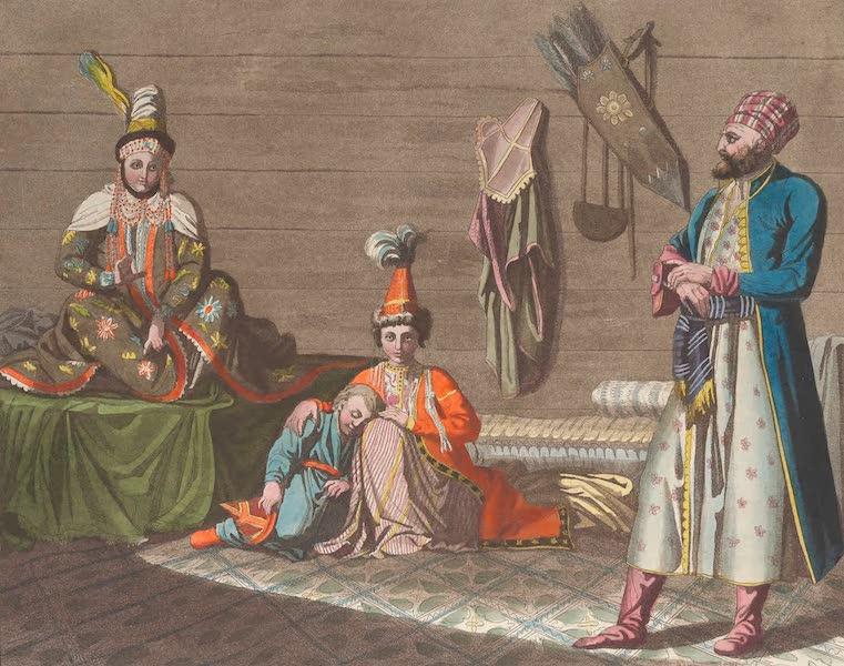 Le Costume Ancien et Moderne [Asie] Vol. 4 - Habillement des Taschekents (1818)