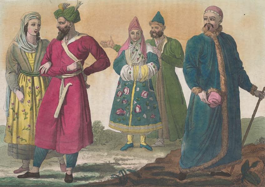 Le Costume Ancien et Moderne [Asie] Vol. 4 - Buchariens, Usbecks, Tartares de Casan (1818)