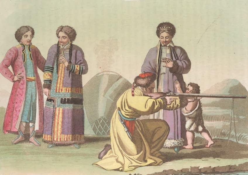Le Costume Ancien et Moderne [Asie] Vol. 4 - Tartares Katschintzes (1818)