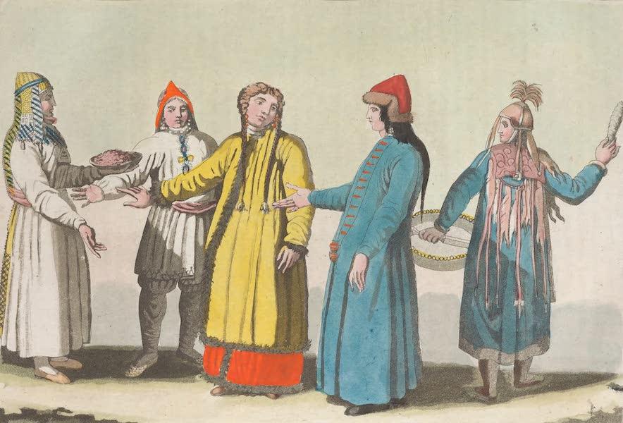 Le Costume Ancien et Moderne [Asie] Vol. 4 - Les Barabinsks (1818)