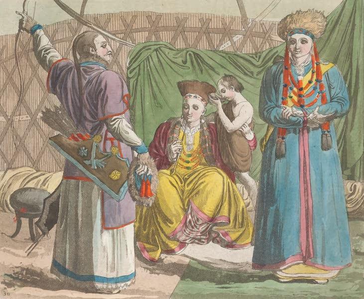 Le Costume Ancien et Moderne [Asie] Vol. 4 - Buriets ou Barga-Buriatt (1818)