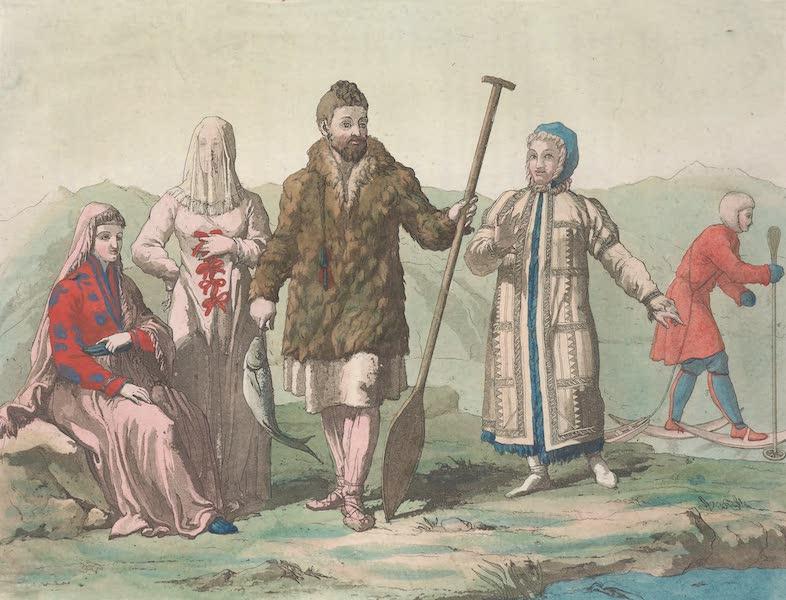 Le Costume Ancien et Moderne [Asie] Vol. 4 - Ostiaks (1818)