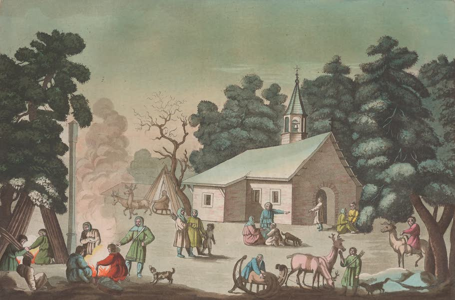 Le Costume Ancien et Moderne [Asie] Vol. 4 - Foire des Samoiedes (1818)