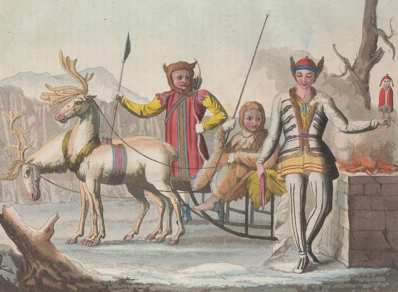 Le Costume Ancien et Moderne [Asie] Vol. 4 - Magicien Yakut etc (1818)
