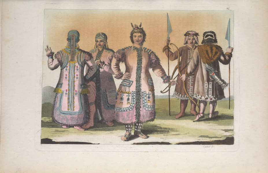 Le Costume Ancien et Moderne [Asie] Vol. 4 - Yakuts (1818)