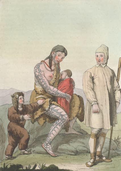 Le Costume Ancien et Moderne [Asie] Vol. 4 - Tschiuktsches (1818)