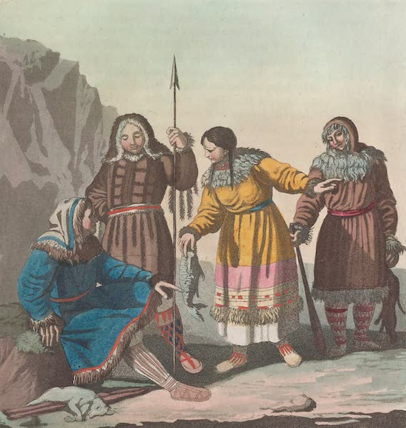Le Costume Ancien et Moderne [Asie] Vol. 4 - Korecks (1818)