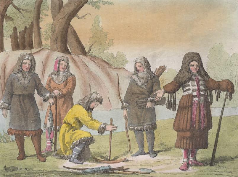 Le Costume Ancien et Moderne [Asie] Vol. 4 - Kamtschadales (1818)