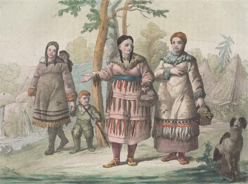 Le Costume Ancien et Moderne [Asie] Vol. 4 - Kamtschadalles (1818)