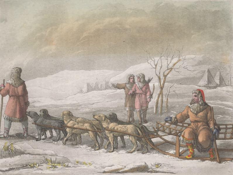 Le Costume Ancien et Moderne [Asie] Vol. 4 - Slite des Kamtschadales trainee par des chiens (1818)