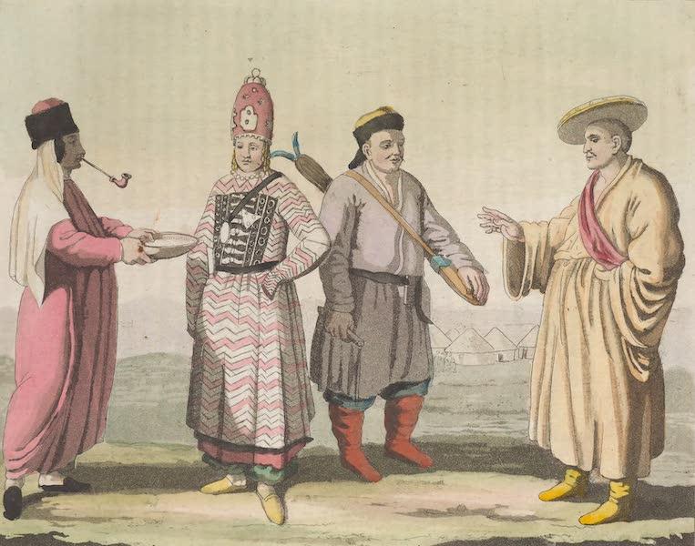 Le Costume Ancien et Moderne [Asie] Vol. 4 - Calmouks (1818)