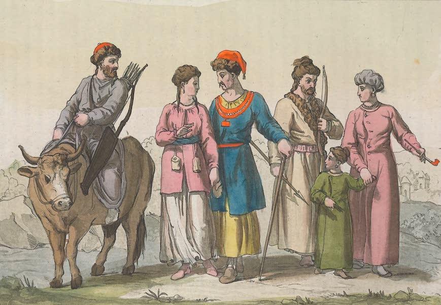 Le Costume Ancien et Moderne [Asie] Vol. 4 - Tartares Tagurs etc (1818)