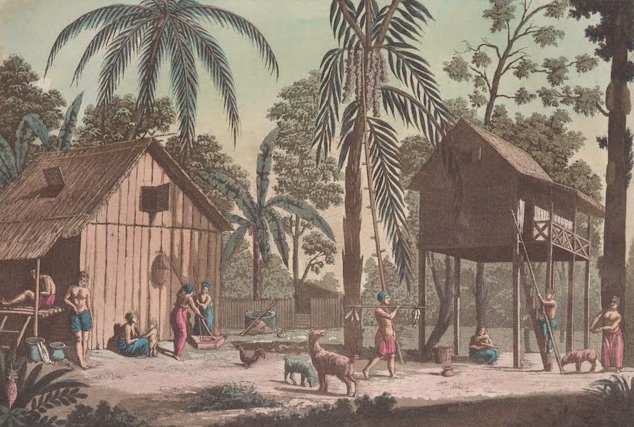 Le Costume Ancien et Moderne [Asie] Vol. 4 - Maisons de Sumatra (1818)