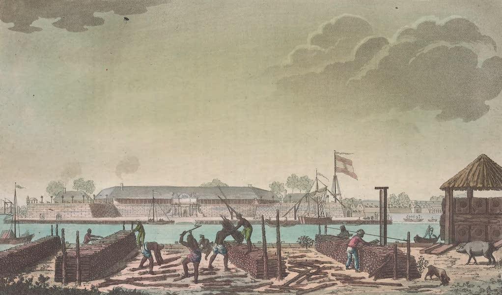 Le Costume Ancien et Moderne [Asie] Vol. 4 - Chateau de Batavia (1818)