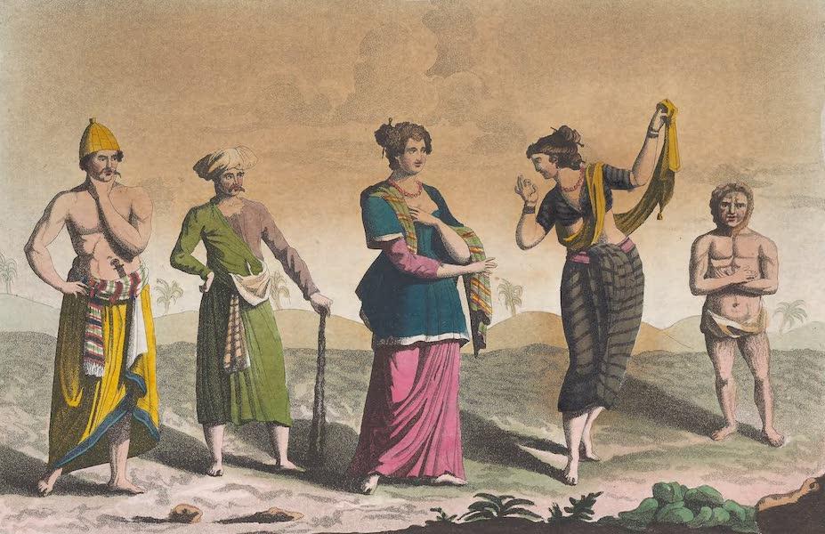 Le Costume Ancien et Moderne [Asie] Vol. 4 - Habillement des Javanais (1818)