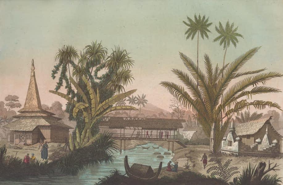 Le Costume Ancien et Moderne [Asie] Vol. 4 - Village Cayeli dans l'ile de Bourou (1818)