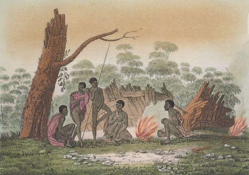 Le Costume Ancien et Moderne [Asie] Vol. 4 - Habitans de la Terre de Diemen [II] (1818)
