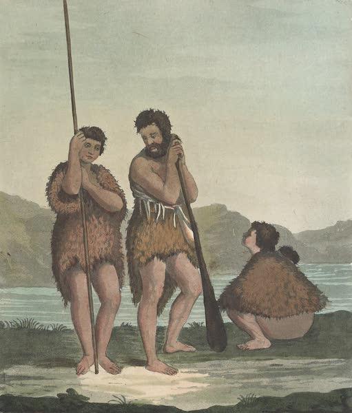 Le Costume Ancien et Moderne [Asie] Vol. 4 - Famille dans le baie Dusky (1818)