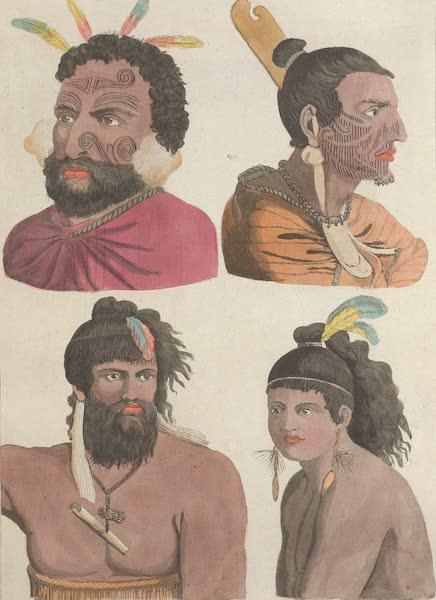 Le Costume Ancien et Moderne [Asie] Vol. 4 - Habitans de la Nouvelle Zelande (1818)