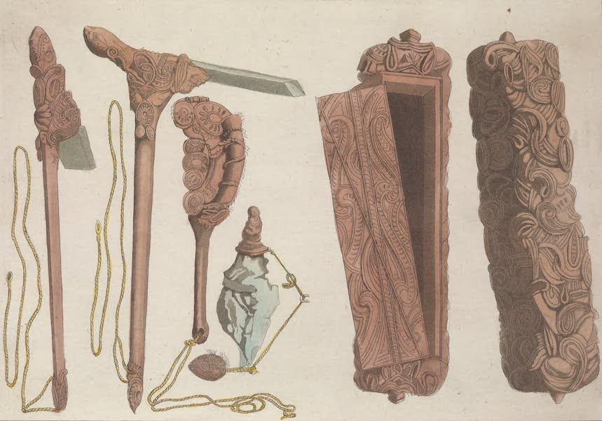 Le Costume Ancien et Moderne [Asie] Vol. 4 - Ouvrages de ces Insulaires (1818)