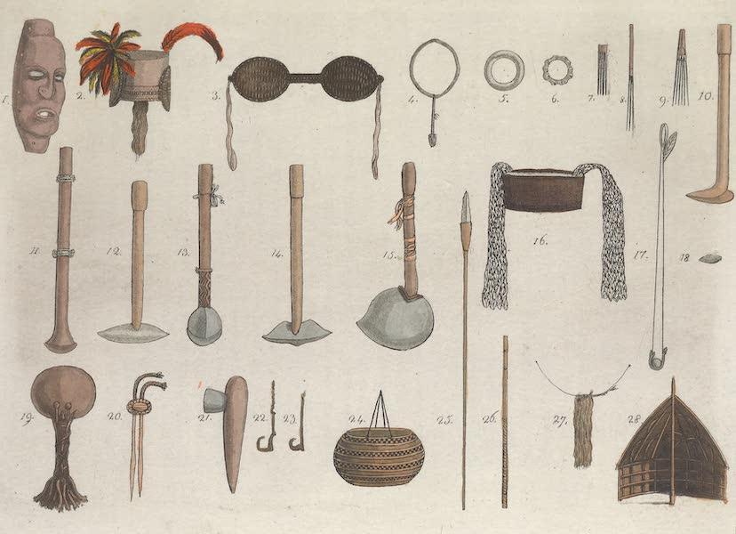 Le Costume Ancien et Moderne [Asie] Vol. 4 - Ustensiles (1818)