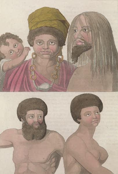 Le Costume Ancien et Moderne [Asie] Vol. 4 - Habitans de l'ile Beaupre (1818)
