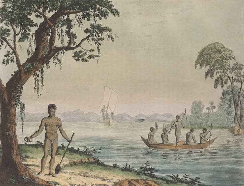 Le Costume Ancien et Moderne [Asie] Vol. 4 - Habitans des iles de l'Amiraute (1818)