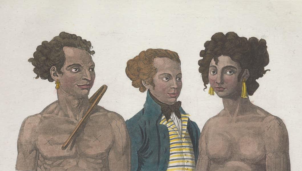 Le Costume Ancien et Moderne [Asie] Vol. 4 - Habitans des iles Pelew (1818)