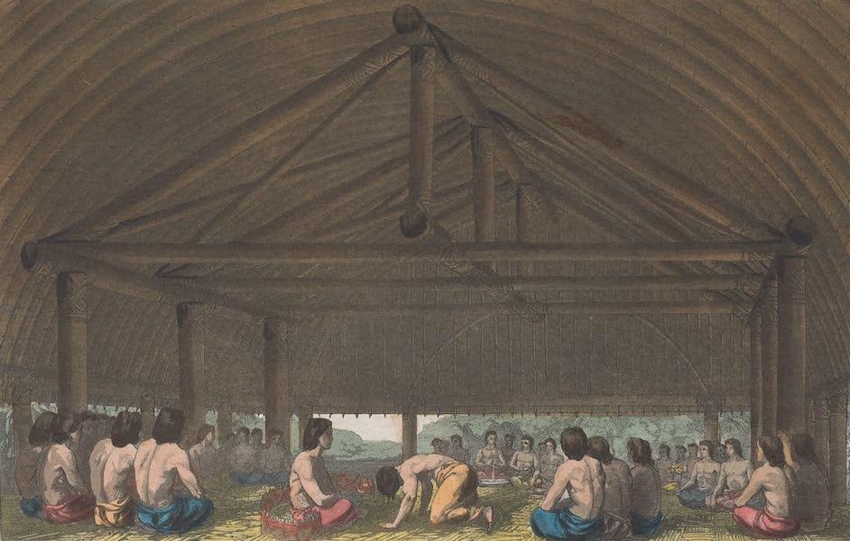 Le Costume Ancien et Moderne [Asie] Vol. 4 - Pulaho qui boit la Kava (1818)