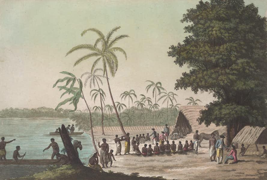 Le Costume Ancien et Moderne [Asie] Vol. 4 - Vue d'Anamuka (1818)