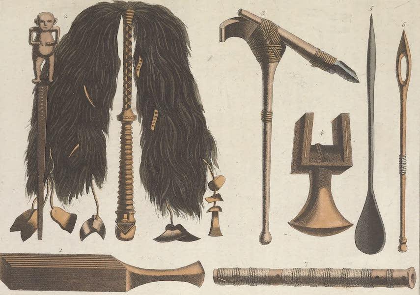 Le Costume Ancien et Moderne [Asie] Vol. 4 - Pirogues des Tahitiens (1818)