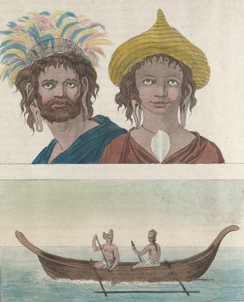 Le Costume Ancien et Moderne [Asie] Vol. 4 - Habitans de l'ile de Paques (1818)