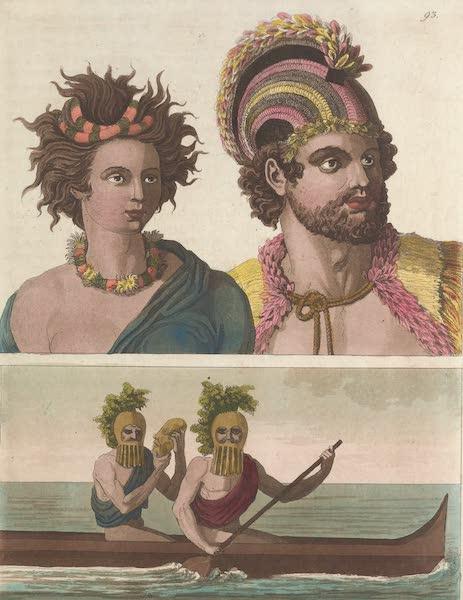 Le Costume Ancien et Moderne [Asie] Vol. 4 - Habitans des iles Sandwich (1818)