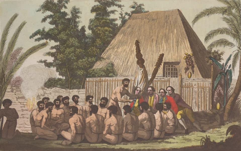 Le Costume Ancien et Moderne [Asie] Vol. 4 - Honneurs rendus a Cook (1818)